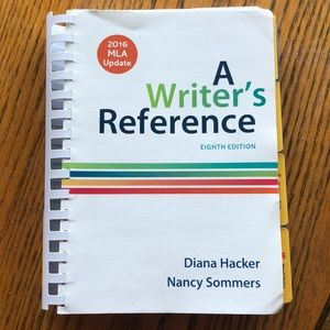 A Writer's Reference 8th Edition